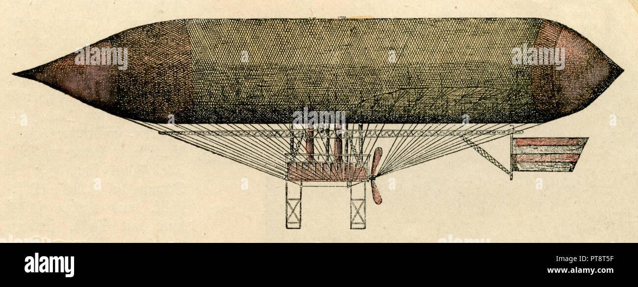 L'airship, Hänlein Photo Stock