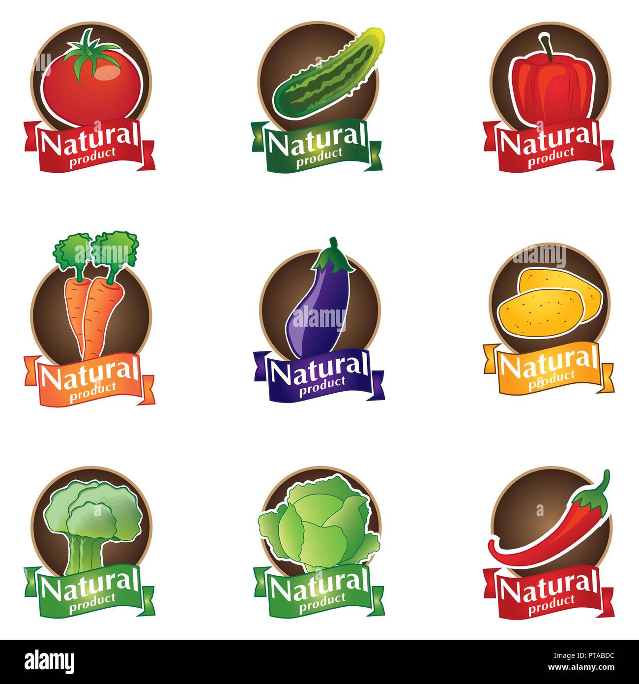 c0b5369b3f3 Logo vector set naturels