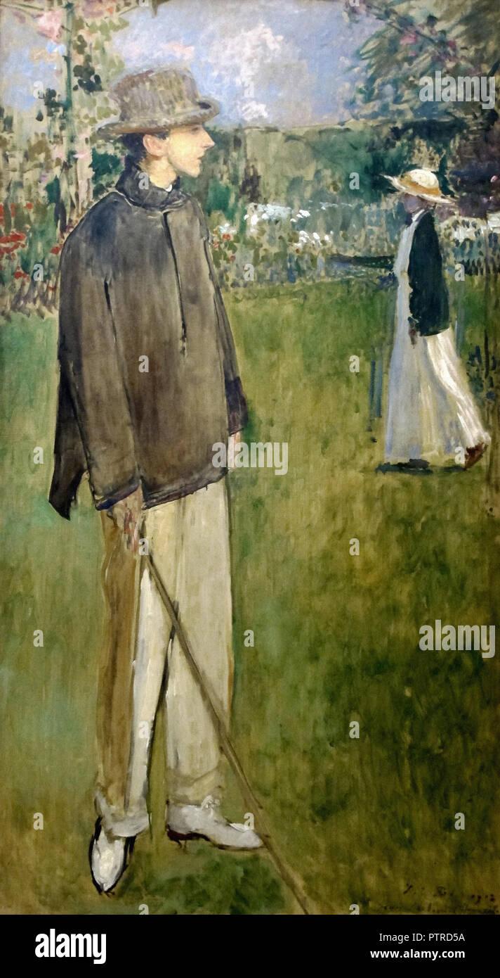 97105f0dec8 Blanche Jacques Emile - Portrait de Jean Cocteau (étude) Photo Stock