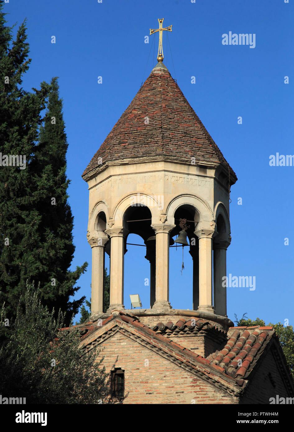 La Géorgie, Tbilissi, église, clocher, Banque D'Images