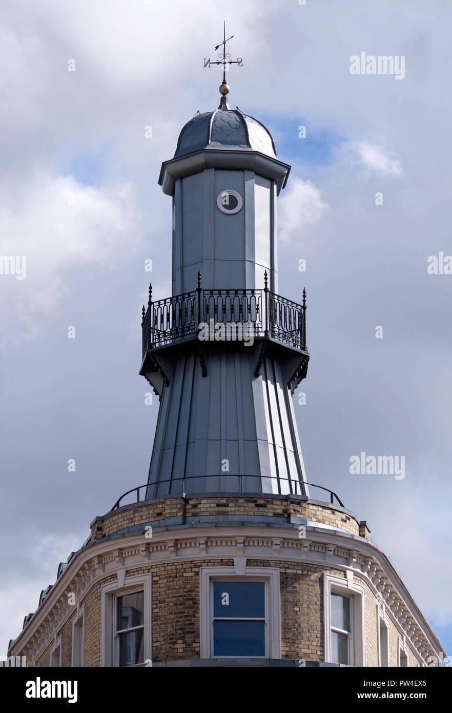 Le phare de Kings Cross, London Photo Stock