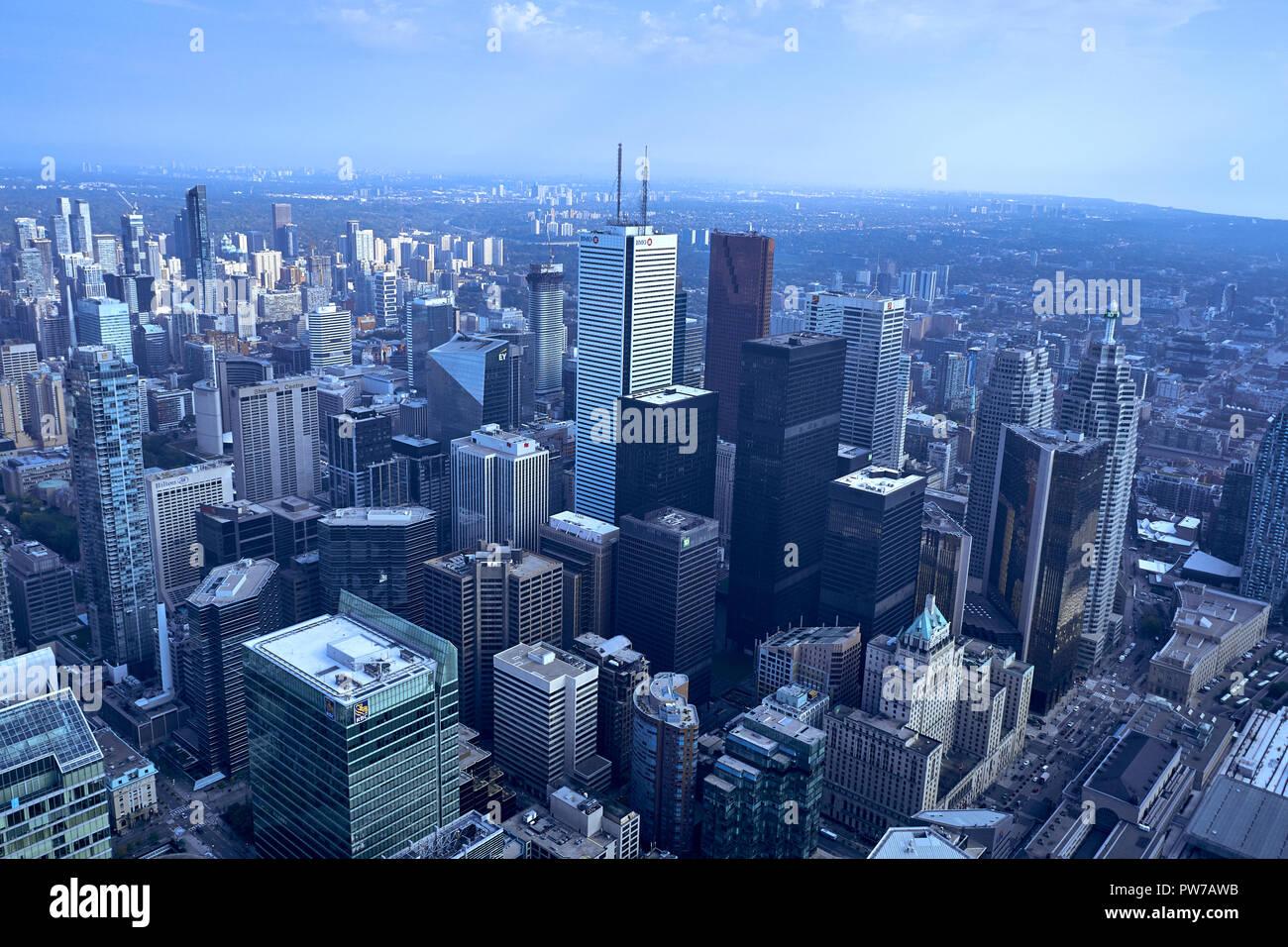 Tour CN . Toronto Banque D'Images