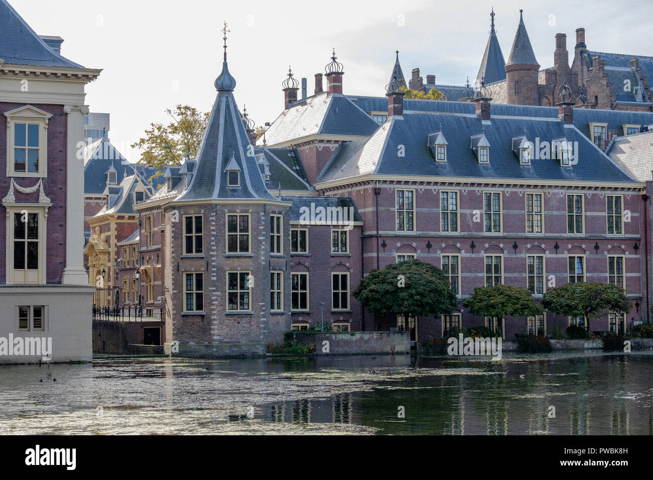 La Petite tour (Het Torentje) à La Haye, cabinet du Premier Ministre des Pays-Bas. Banque D'Images
