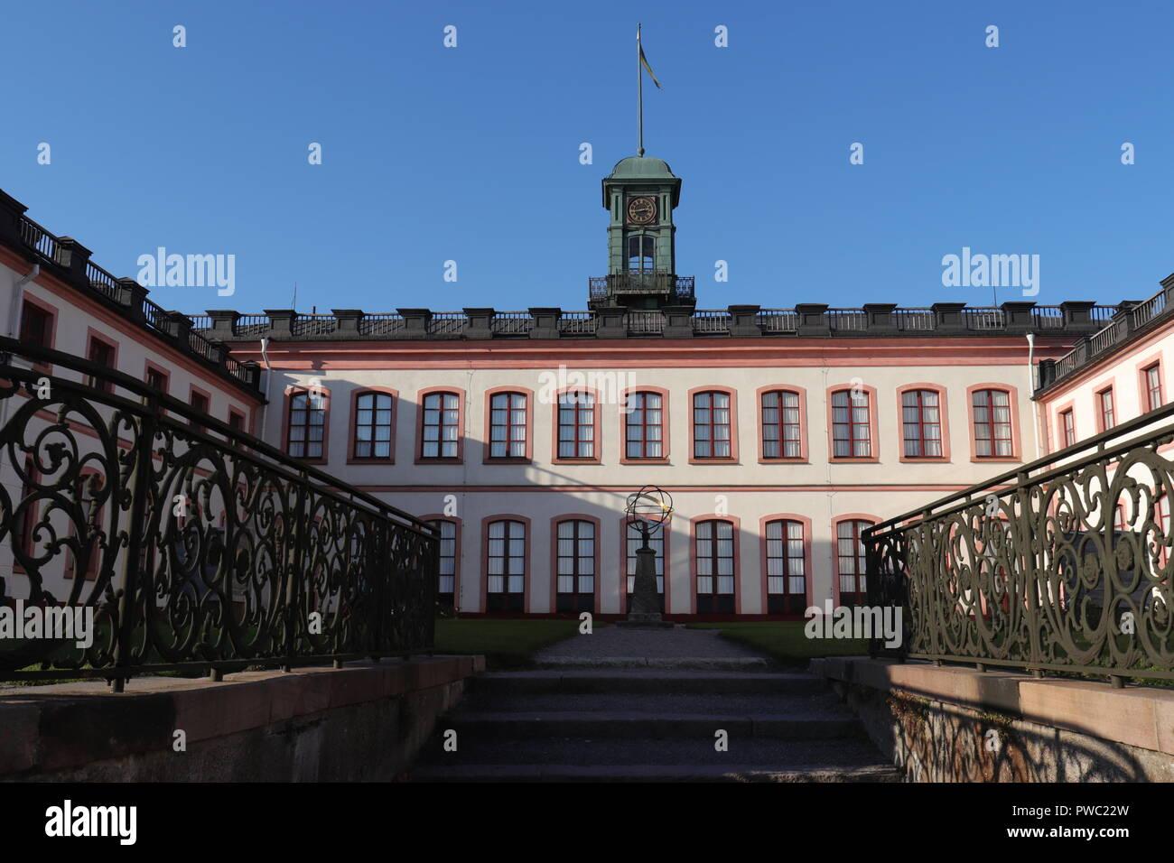 Château Royal de Tullgarn dans Tullgarn, Suède Banque D'Images