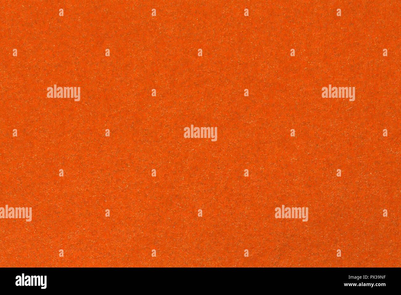 La texture du papier orange et de milieux différents. La texture du papier de haute qualité. Photo Stock