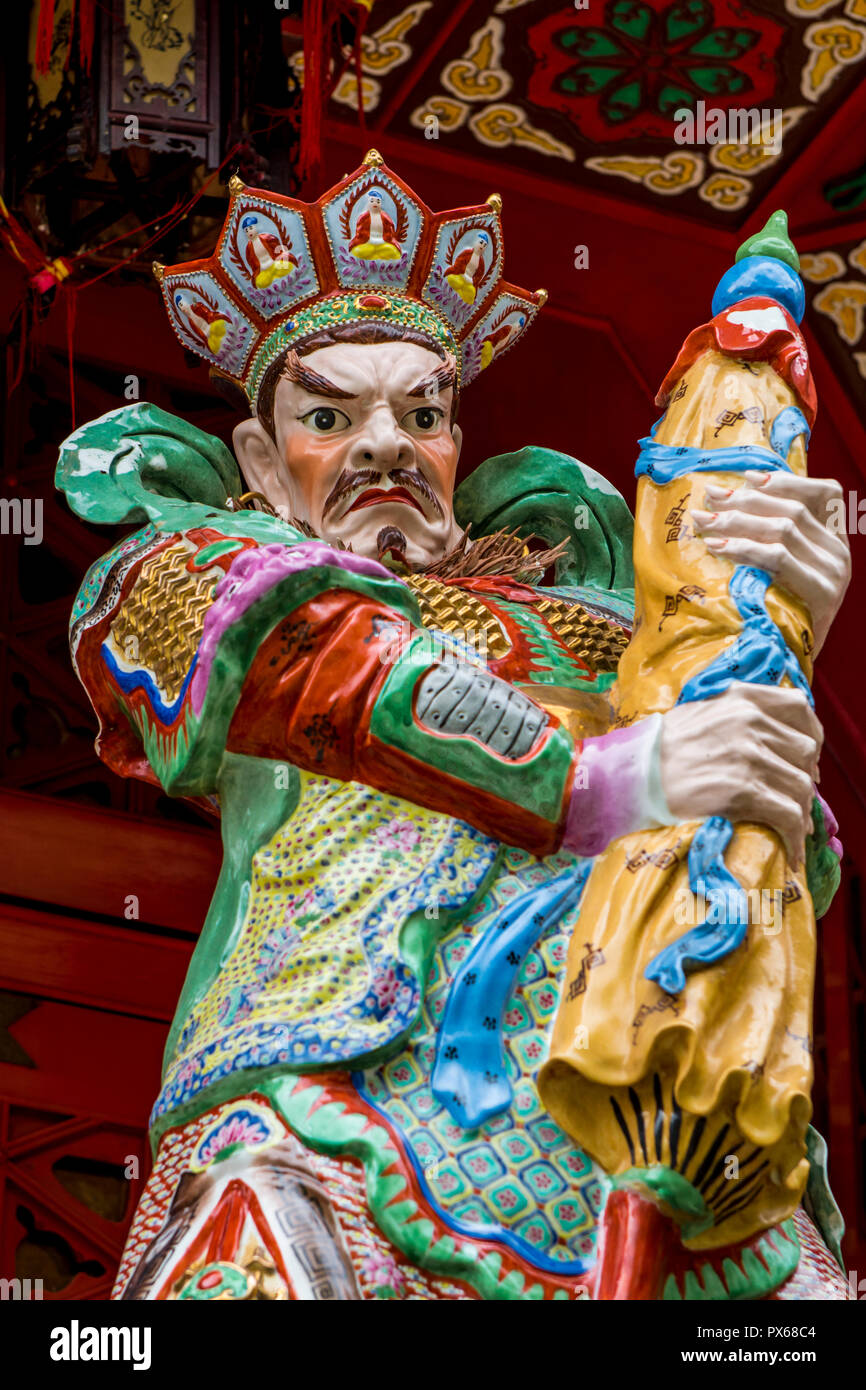 Sik Sik Yuen Wong Tai Sin Temple, Kowloon, Hong Kong, Chine. Photo Stock