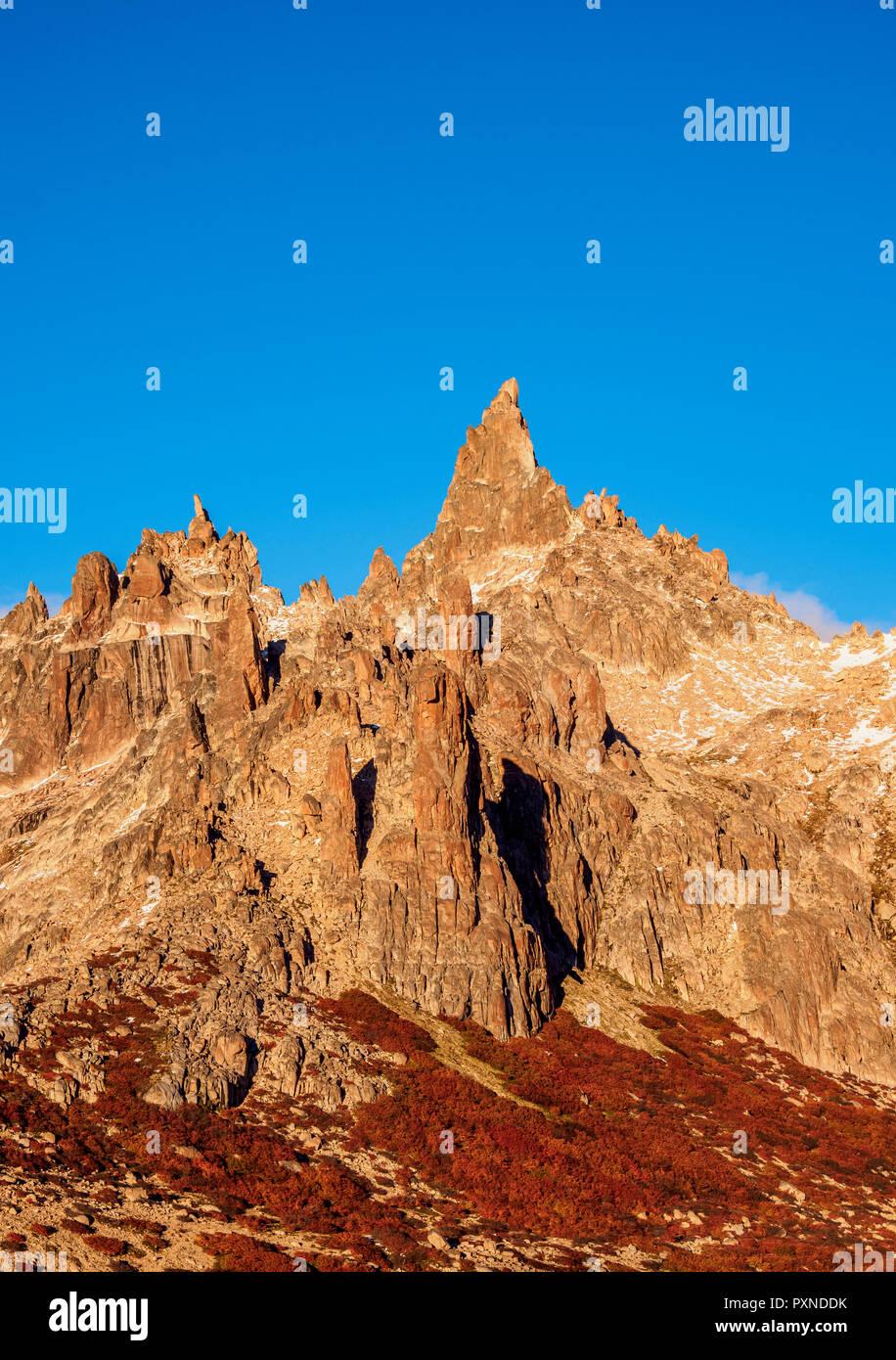 Cerro Catedral, Parc National Nahuel Huapi, province de Rio Negro, Argentine Photo Stock