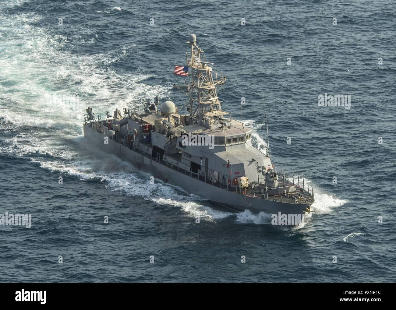 Le Golfe Arabique (18 juin 2017) Le navire de patrouille
