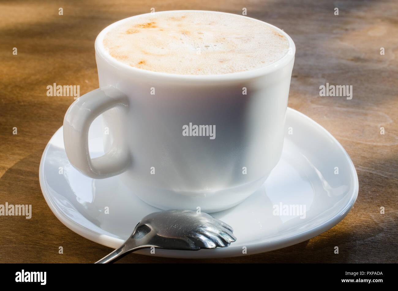Cappuccino Latte Tasse L'inscription Blanc Café Avec Mousse En Et Ou dBWrxQeoEC