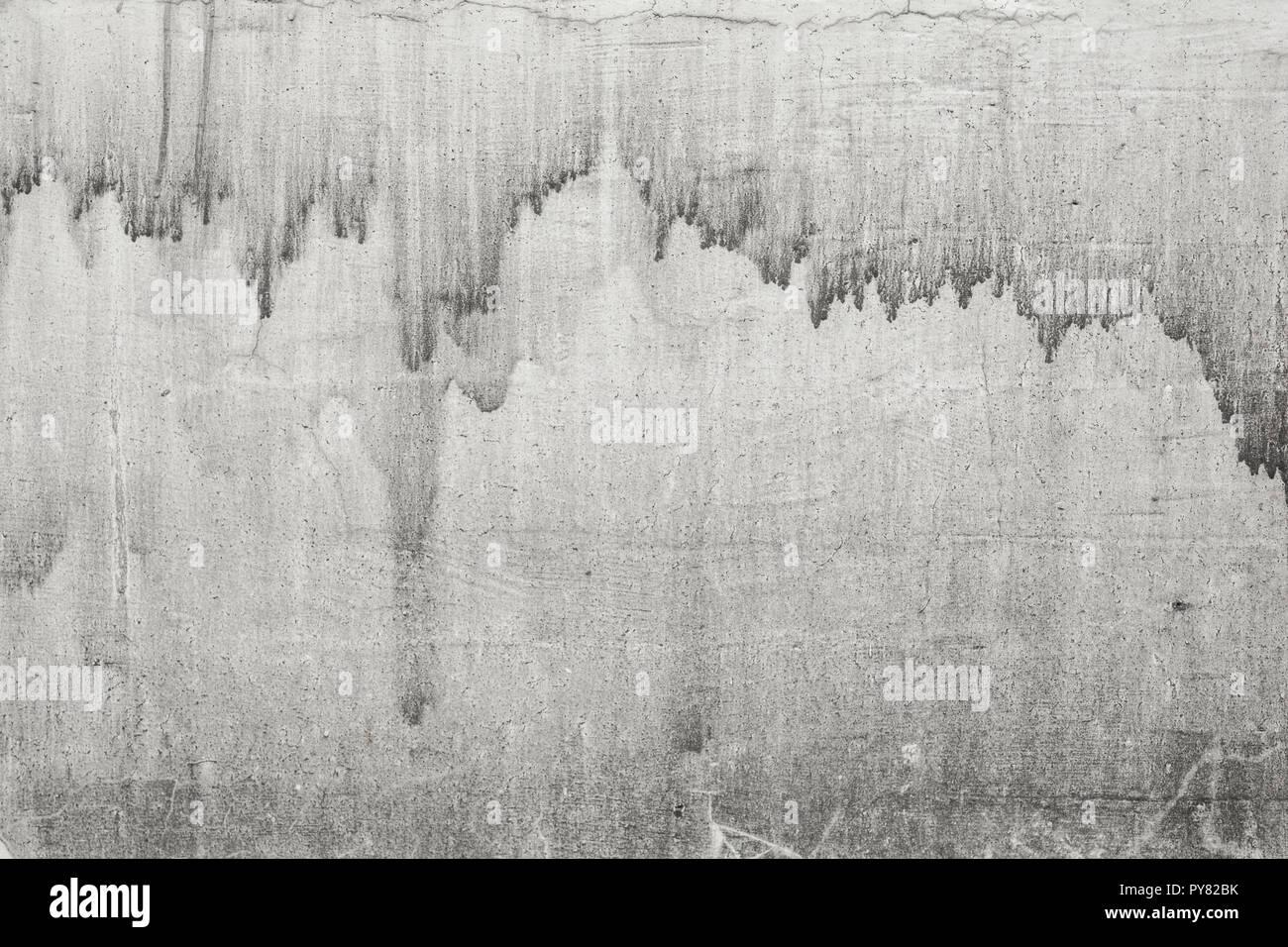 Mur de béton gris clair rustique texture photo. Vieille ...