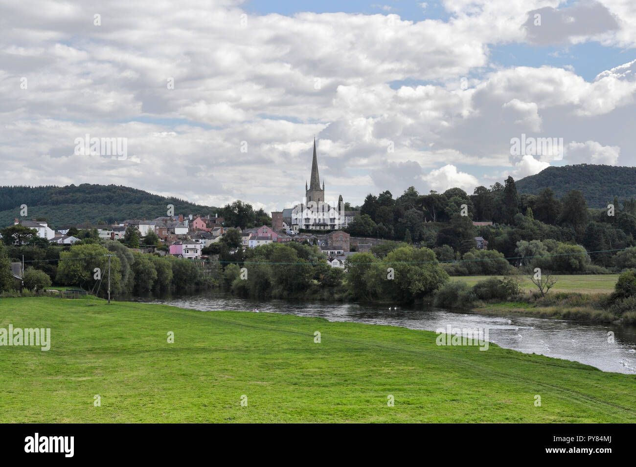 Ross on Wye dans le Herefordshire Angleterre UK Banque D'Images
