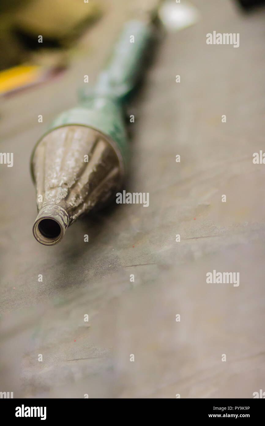 Anti-char vieux grenade), d'une épaule-tiré des roquettes que les incendies de système d'arme équipée d'une ogive explosive. La plupart des RP Banque D'Images
