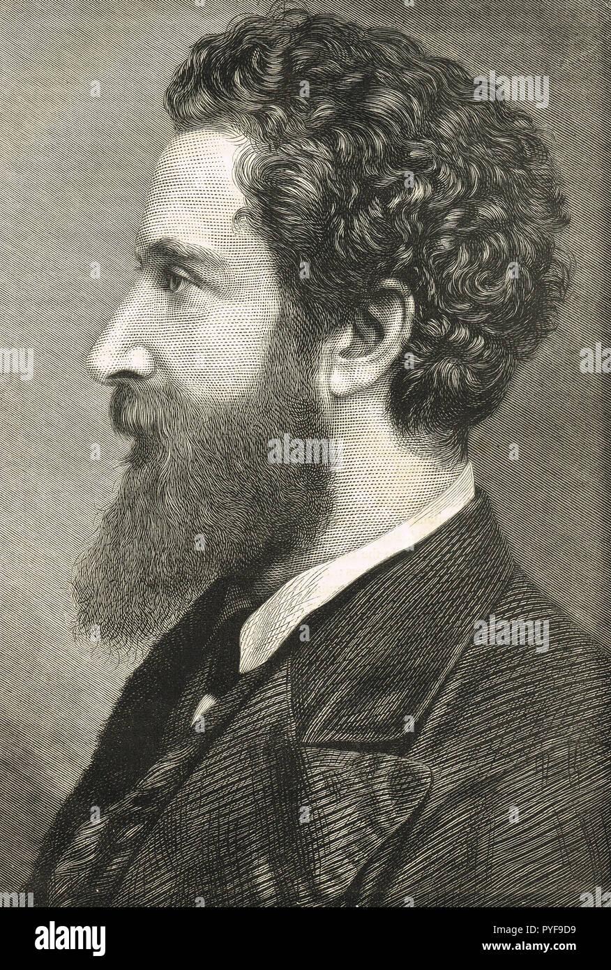 Robert Bulwer-Lytton, vice-roi de l'Inde Banque D'Images