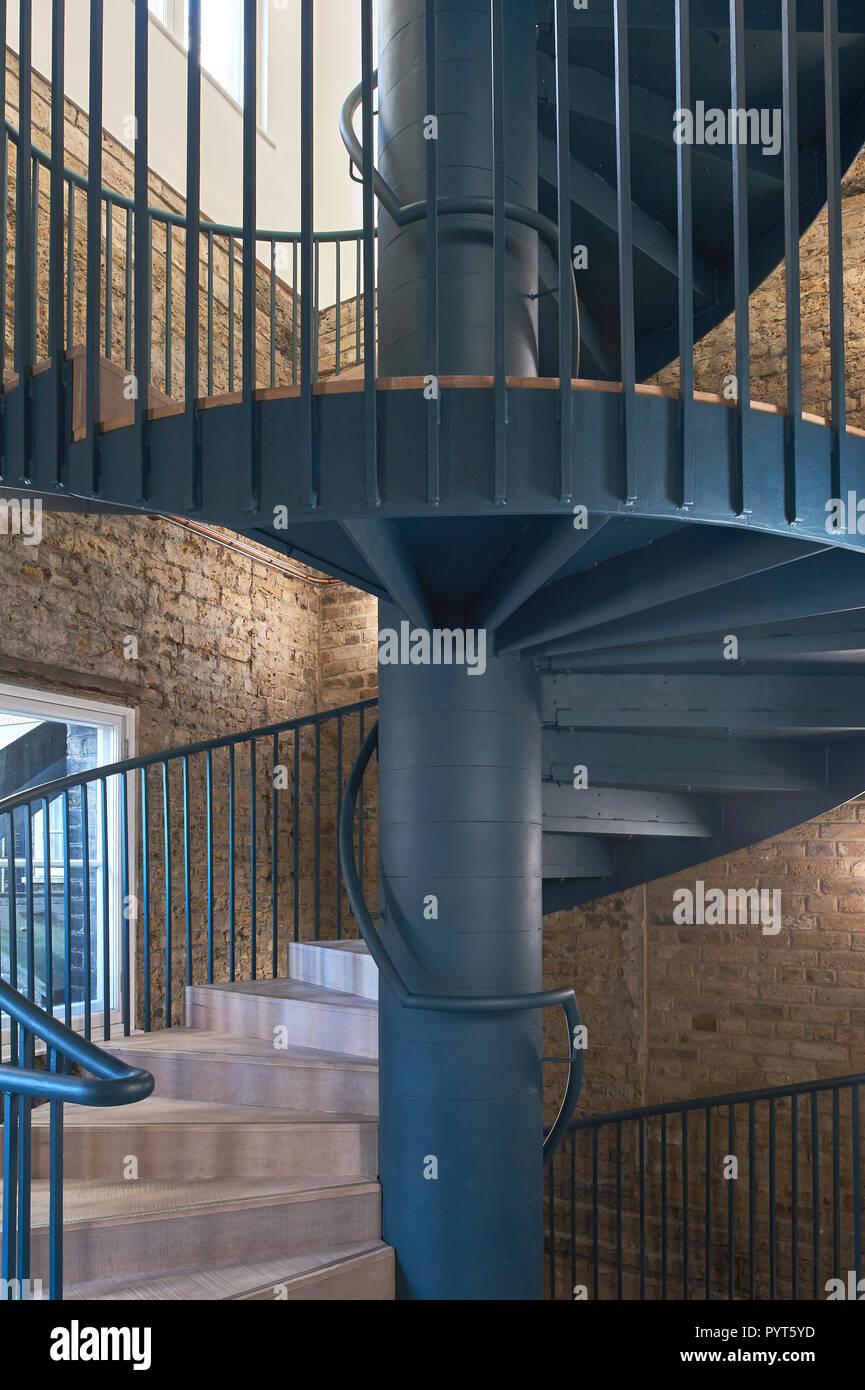 Goldsmiths Centre for contemporary art gallery conçu par assemblage 2018 Photo Stock