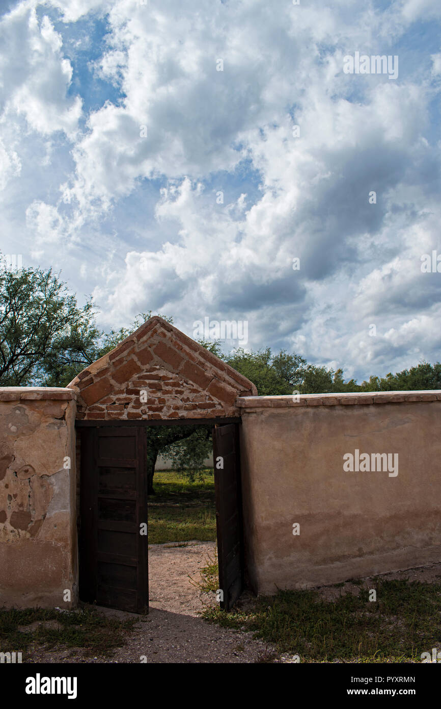 Tumacacori National Historical Park. Arizona USA Banque D'Images