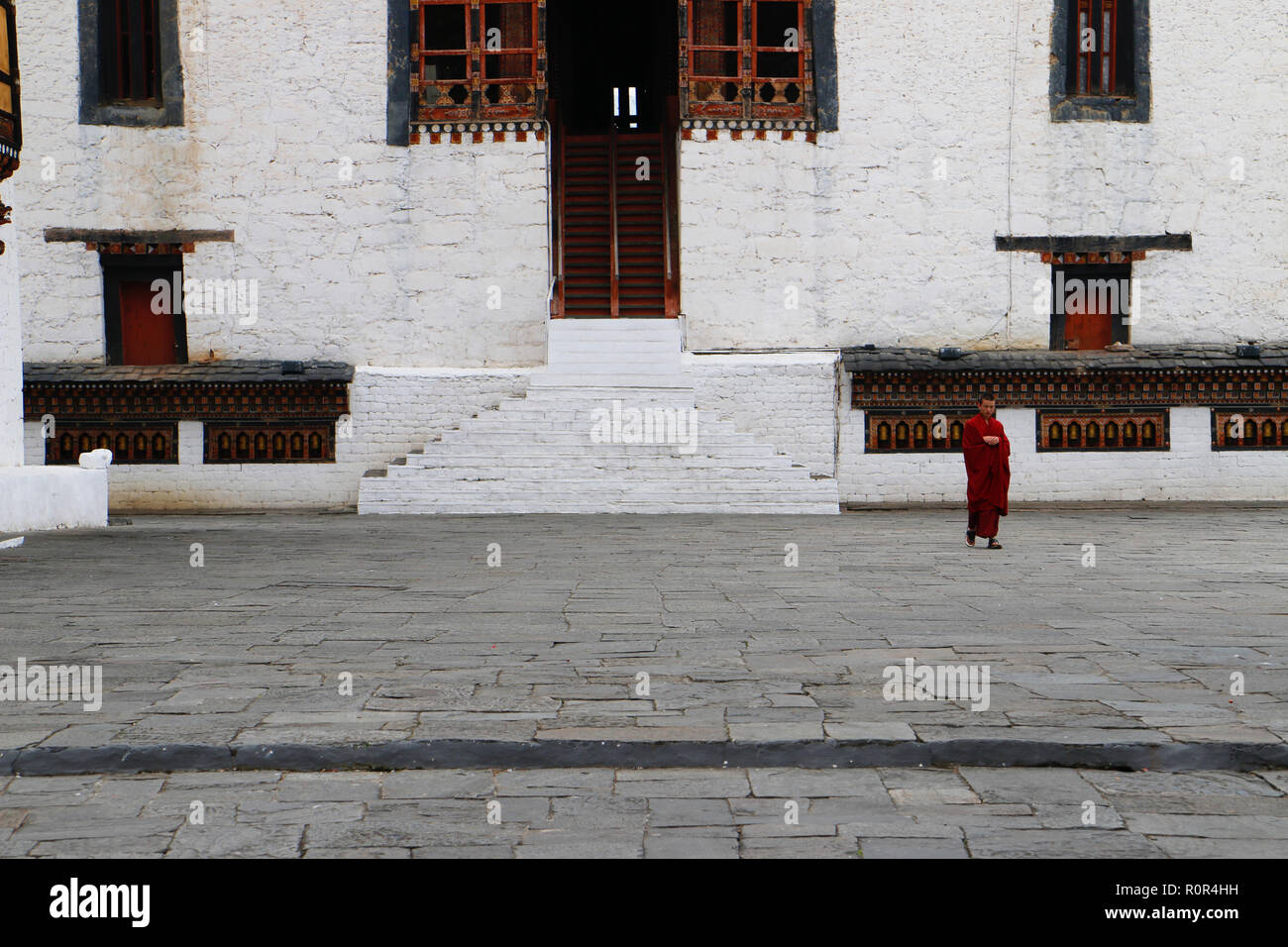Tashichho Dzong, Thimphu, Bhoutan Photo Stock