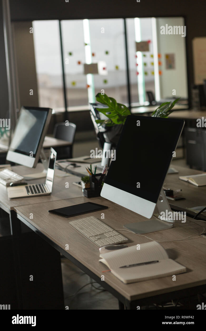 Desktop in office Photo Stock