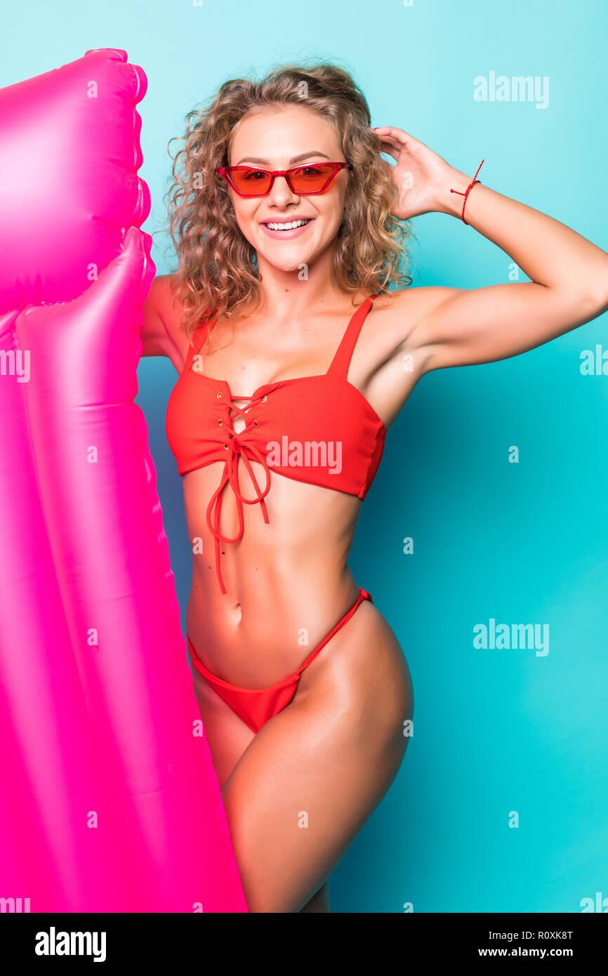 33a12d051 Bikini Fashion Girl Isolated Photos & Bikini Fashion Girl Isolated ...