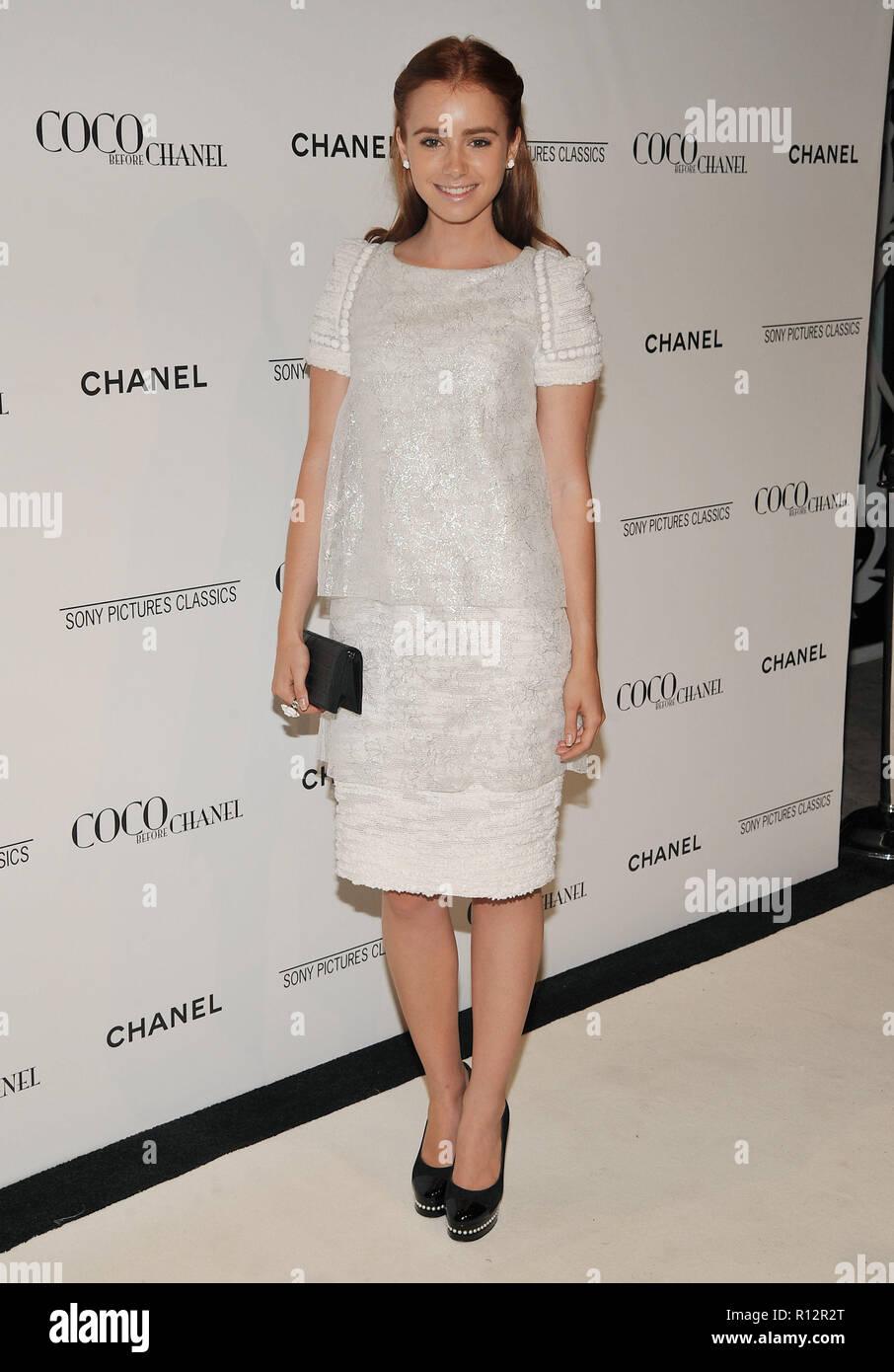 Lili Collins - Coco avant Chanel After Party à la Coco Chanel Boutique à  Los Angeles 785f8e1c285