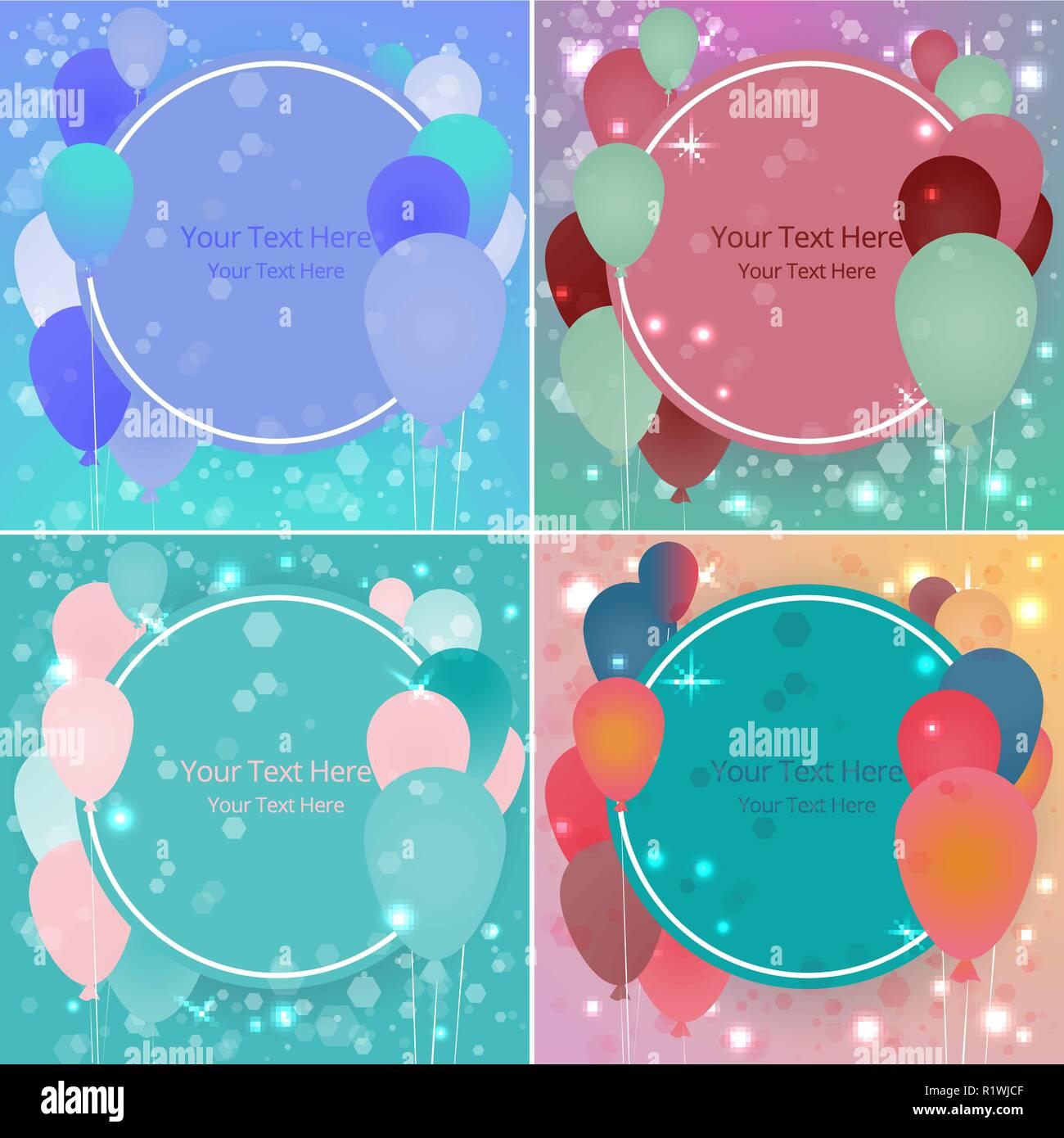 Vente Ballons Business Template Pour Site Web Et D Impression L