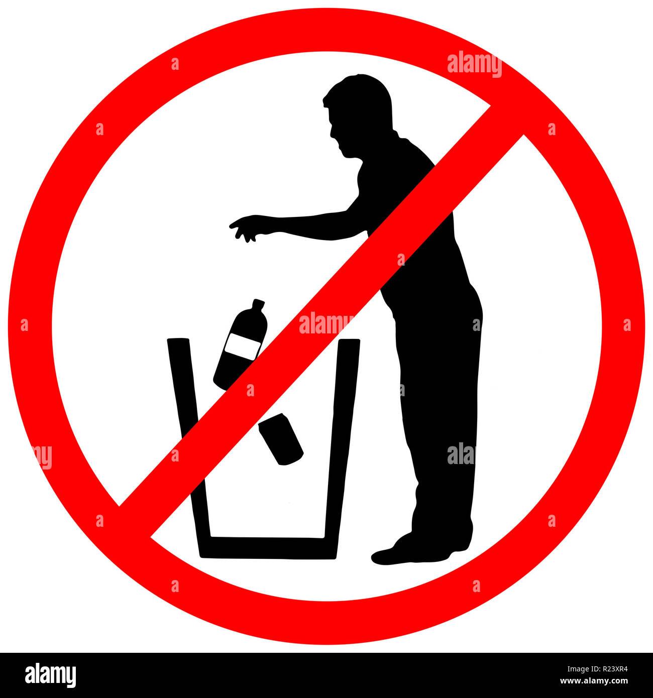 garbage prohibition photos garbage prohibition images. Black Bedroom Furniture Sets. Home Design Ideas