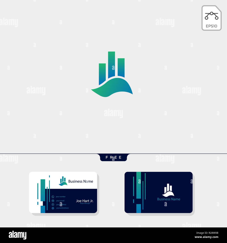 Comptabilite Finance Graphique Ou D Immobilier Appartement Logo