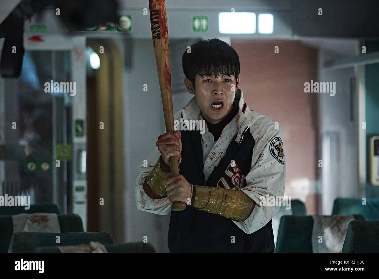 Busanhaeng jusqu'à la gare de Busan Année: 2016 Réalisateur: Corée du Sud Sang-ho Yeon Woo-sik Choi Photo Stock
