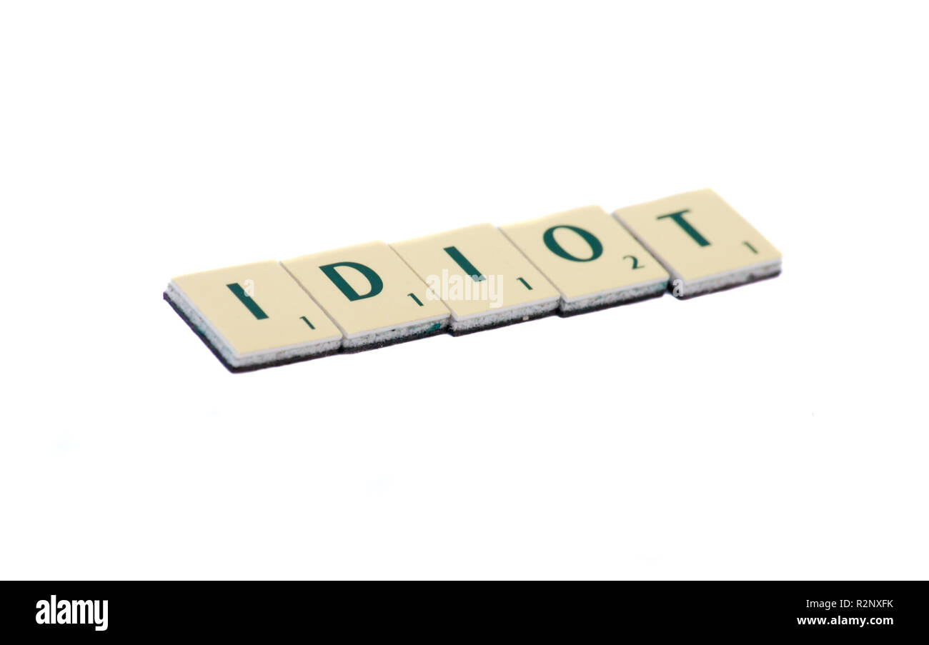 idiot Photo Stock