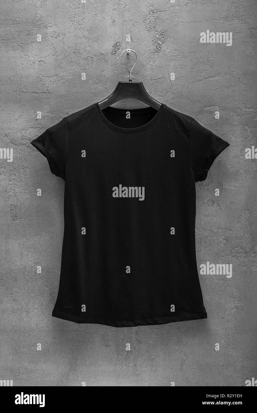 Front Black T Photosamp; Shirt Template Side KFcTlu1J3