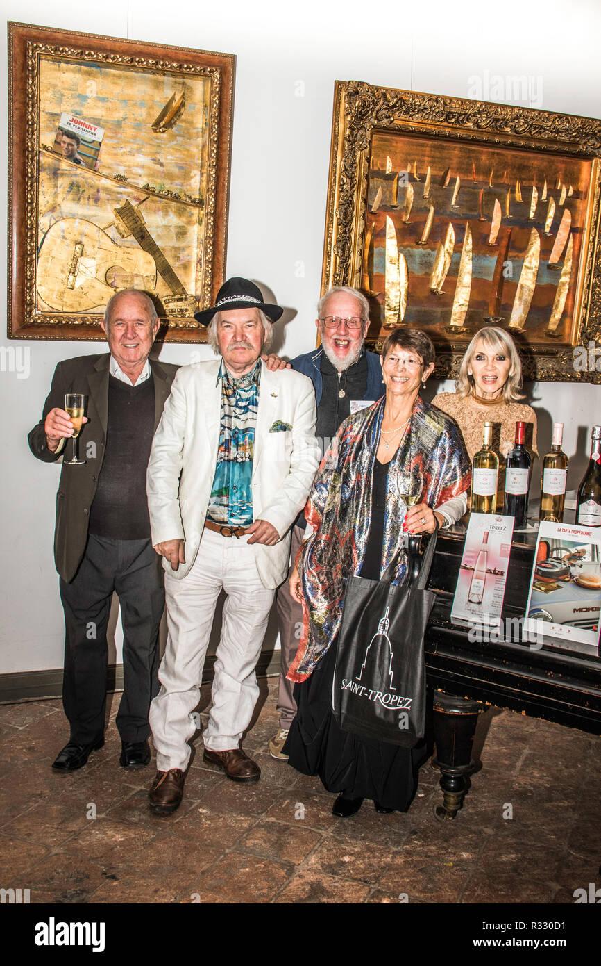 Artiste Peintre St Tropez peintre d'origine hongroise ivan hor 50 vivant à saint