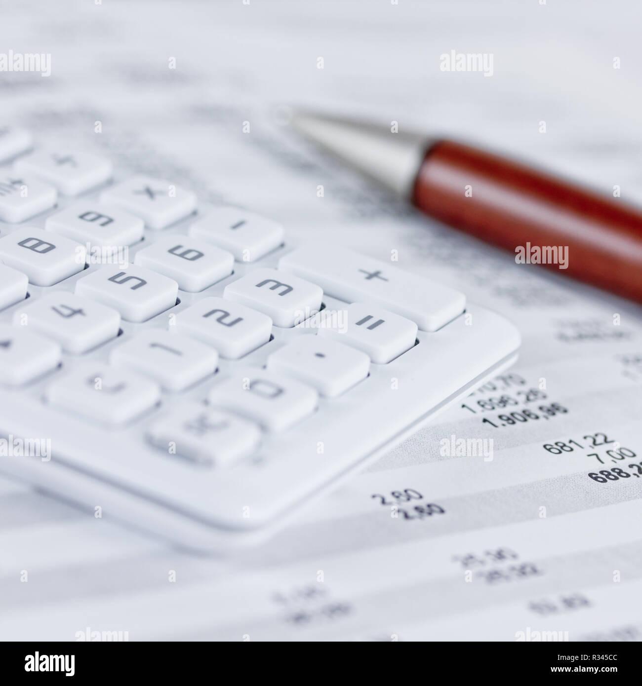 Calculatrice de poche Banque D'Images