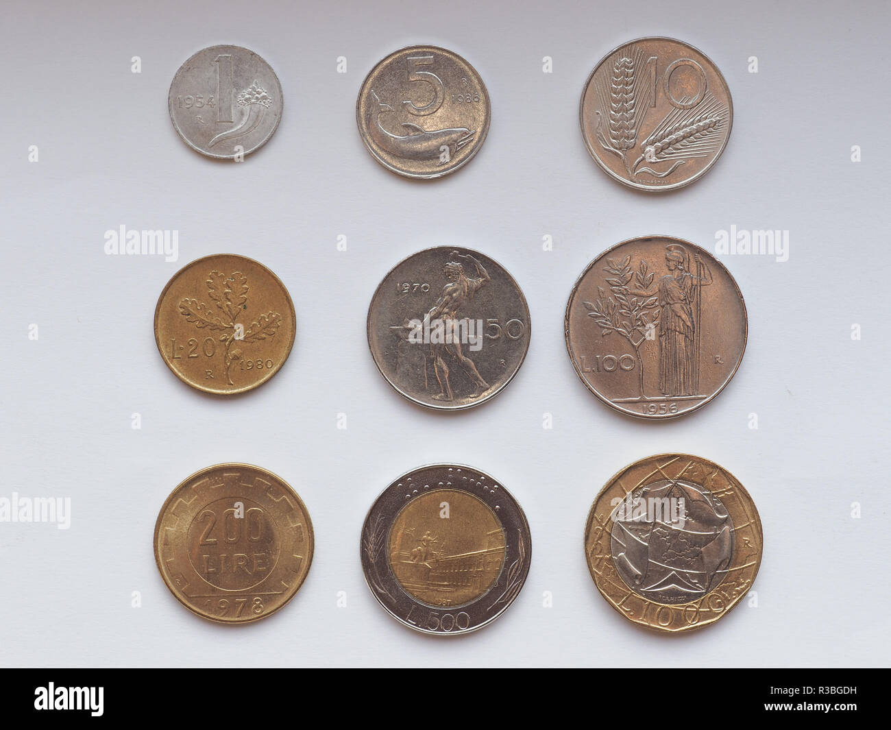 Italian Euro Coin Photos Italian Euro Coin Images Alamy