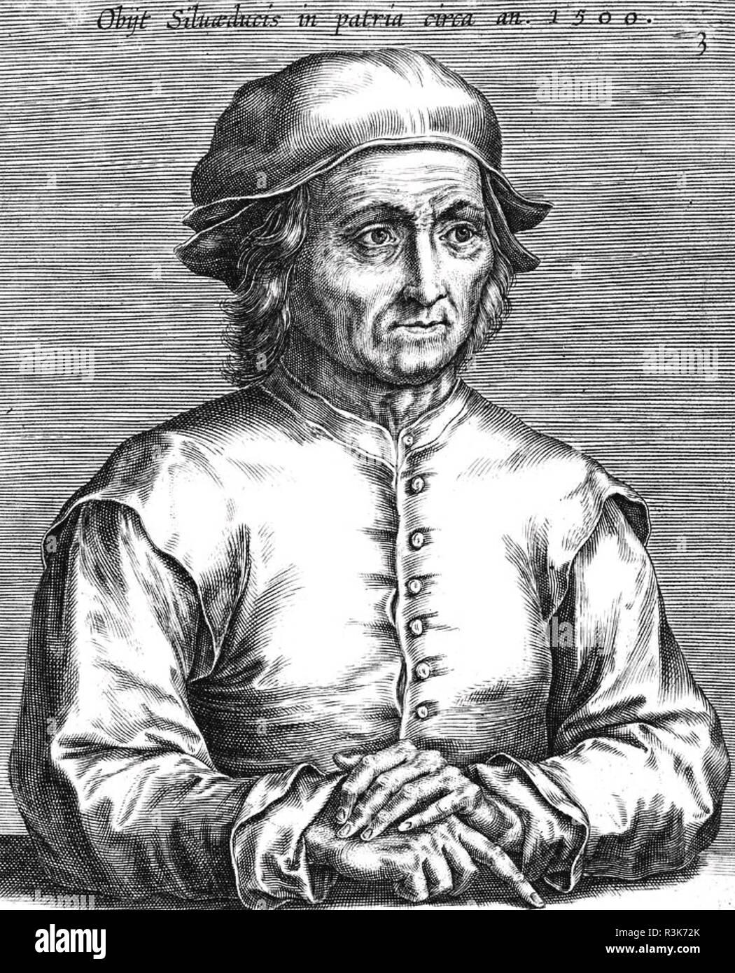 Jérôme BOSCHN (1450-1516) peintre et graveur néerlandais Photo Stock