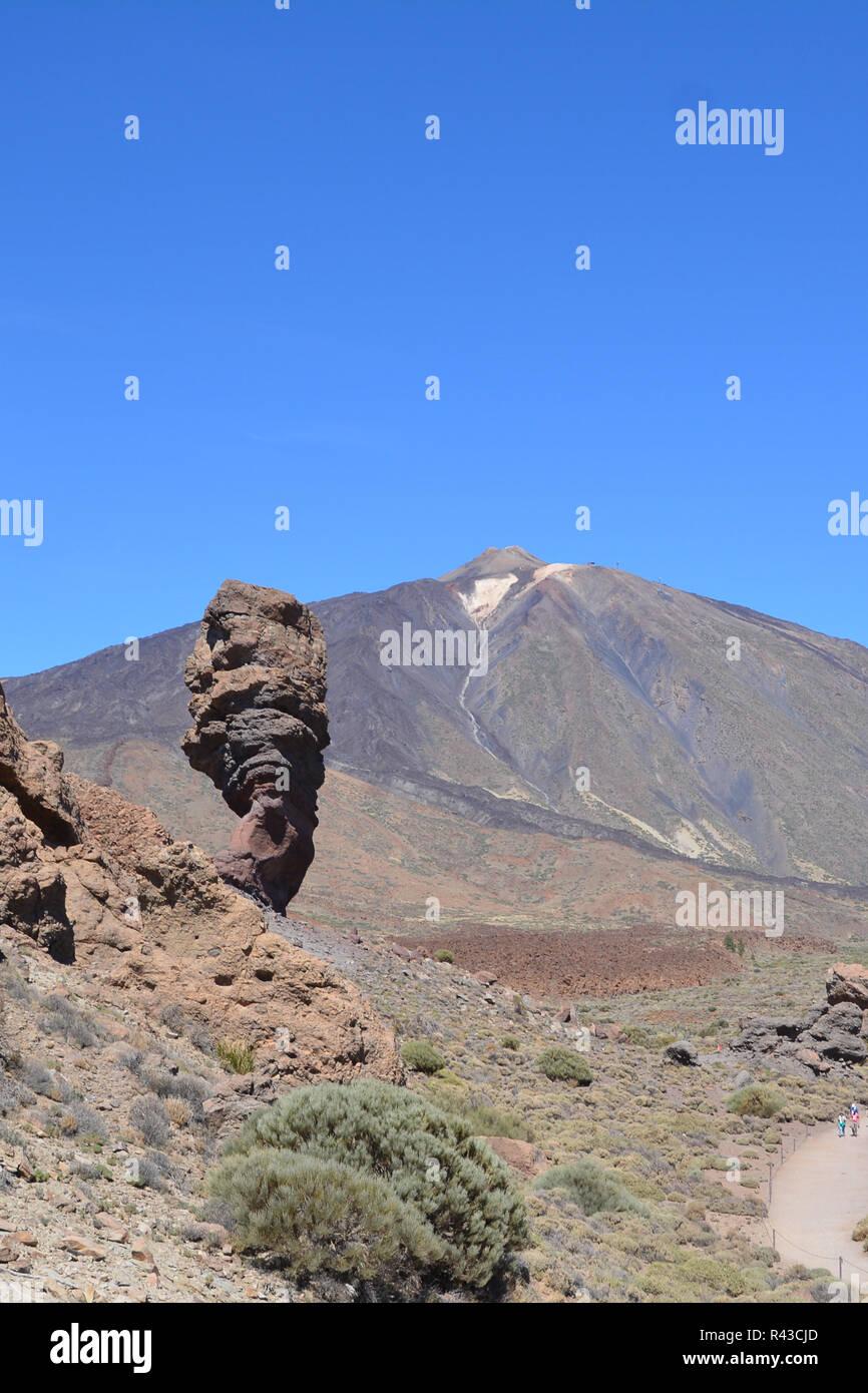 Le teide sur Tenerife, dans les îles canaries Banque D'Images