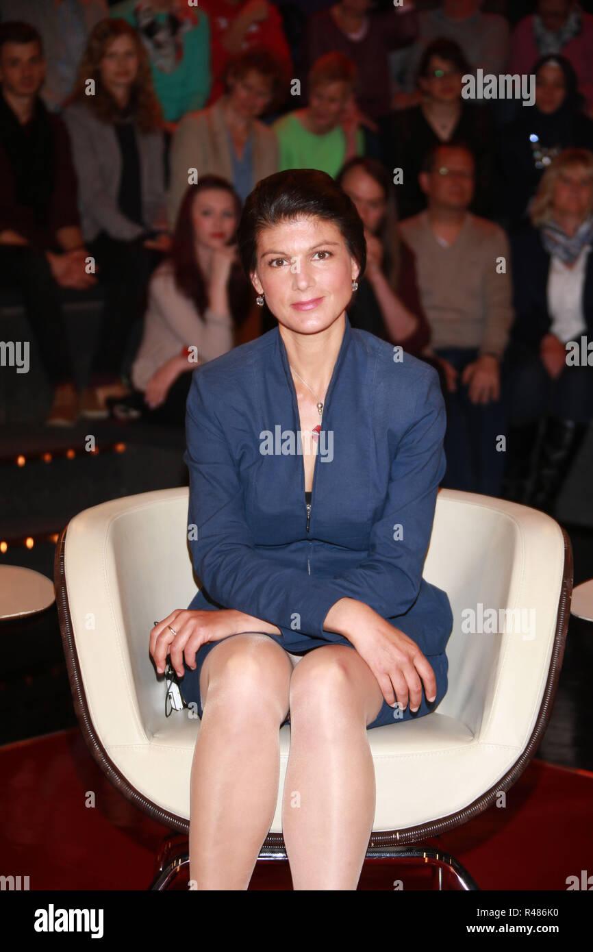 Sahra Wagenknecht (Politikerin), Lanz, Sendung 2 vom 20.04
