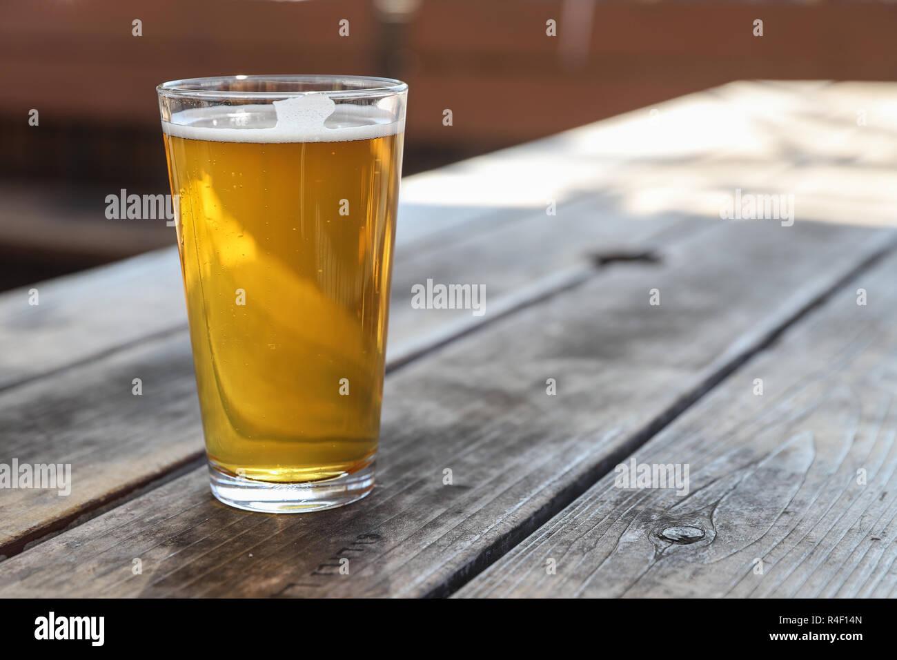 Pale Ale bière artisanale locale Banque D'Images