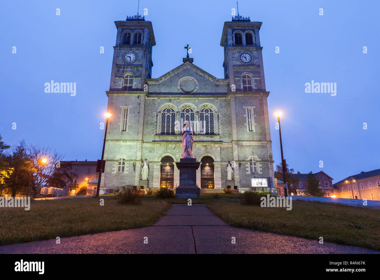 Cathédrale de Saint Jean Baptiste à Terre-Neuve et Labrador, Canada Banque D'Images