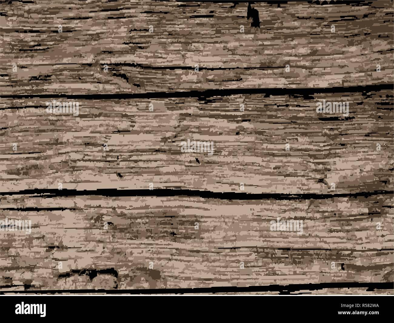 Un fond de vieux bois est bien usé Photo Stock