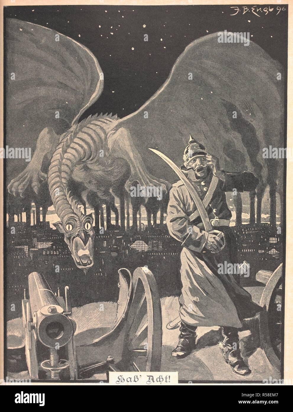 Dessin Pour Le Poème Comme La Nuit Un Dragon Dêtre