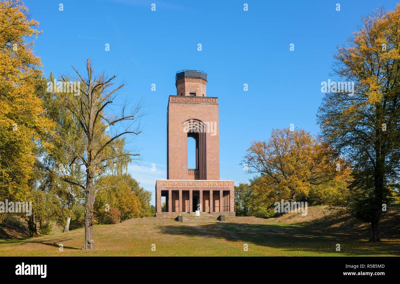 Tour Bismarck, Burg, Spreewald, district de Spree-Neisse, Brandebourg, Allemagne Banque D'Images