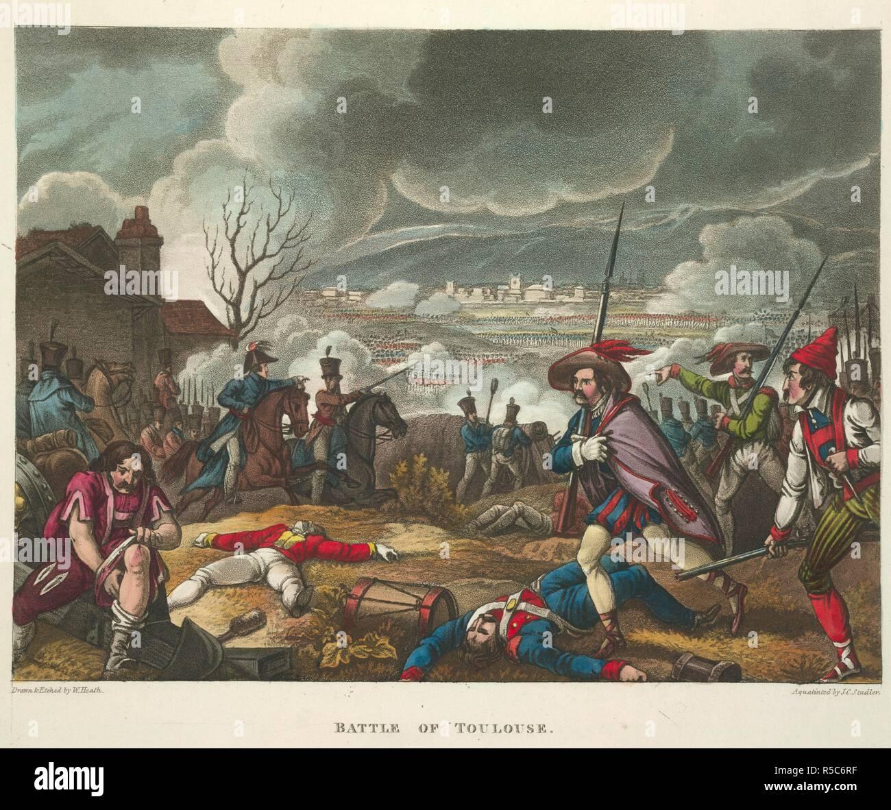 Bataille De Toulouse Les Guerres De Wellington Un Poème