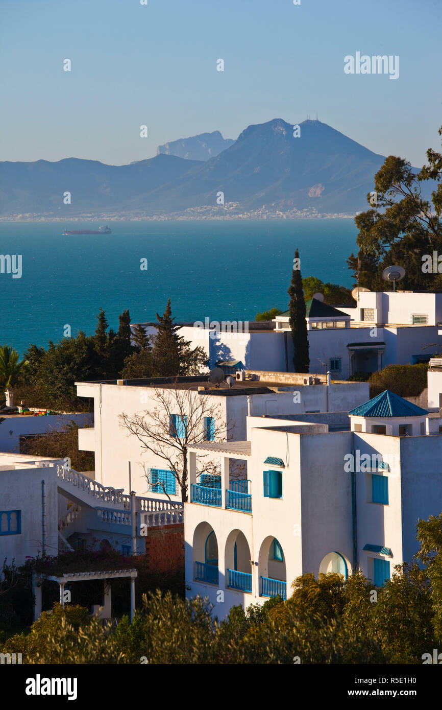 La Tunisie, Sidi Bou Saïd, village détail Photo Stock