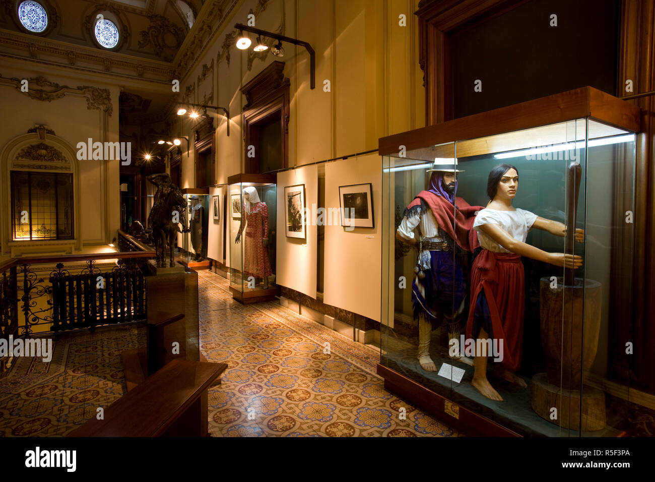 Le Musée du Gaucho, Montevideo, Uruguay Photo Stock