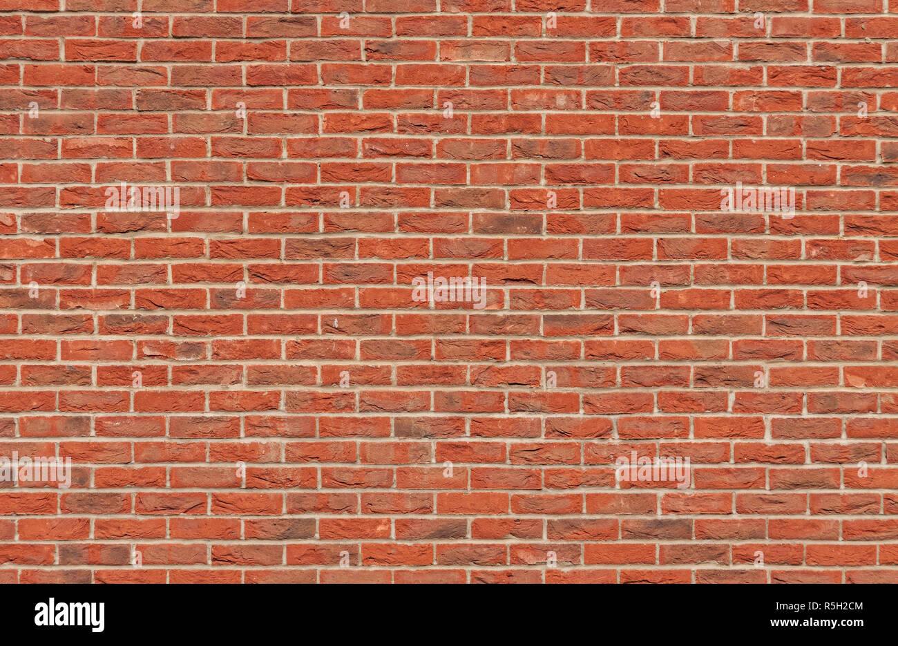 Mur En Brique Rouge la texture mur de briques avec brique rouge banque d'images