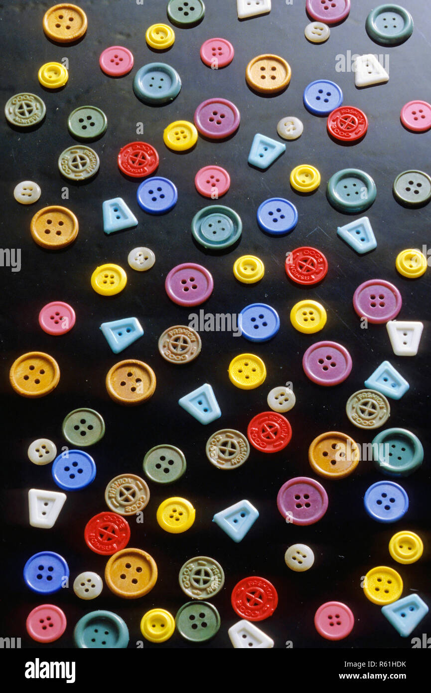 Concept, boutons, Couture Photo Stock
