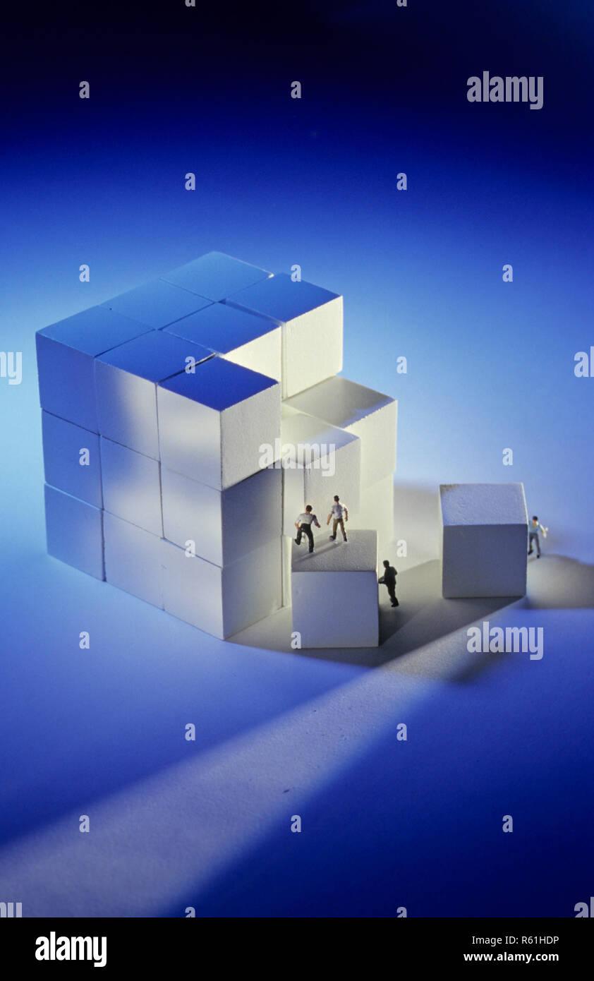 Concept d'affaires Banque D'Images