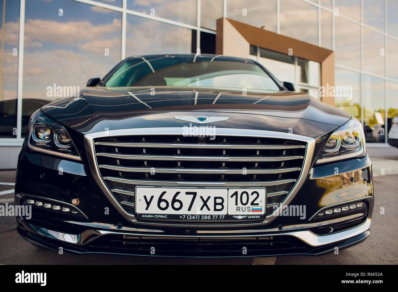 UFA, Russie - le 23 mai: voiture modèle G70 Genesis Photo Stock