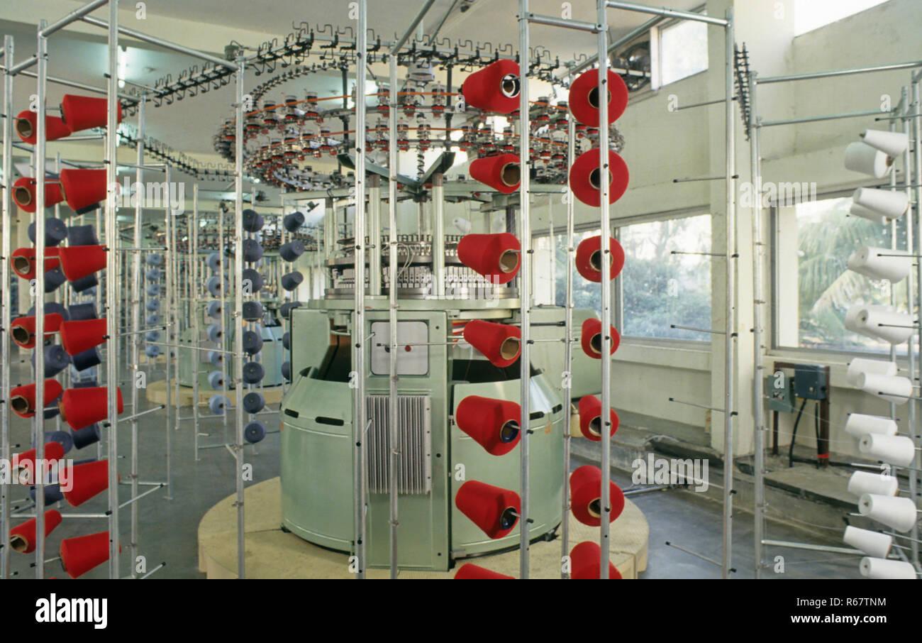 Usine textile Banque D'Images
