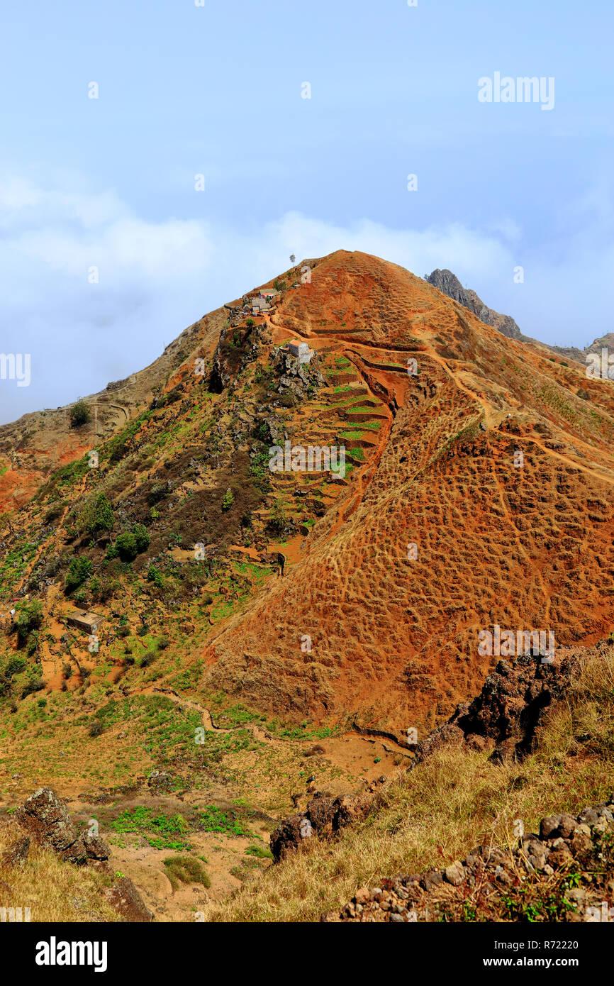 70ff0c78d97 Maisons solitaires dans les montagnes de Santo Antão