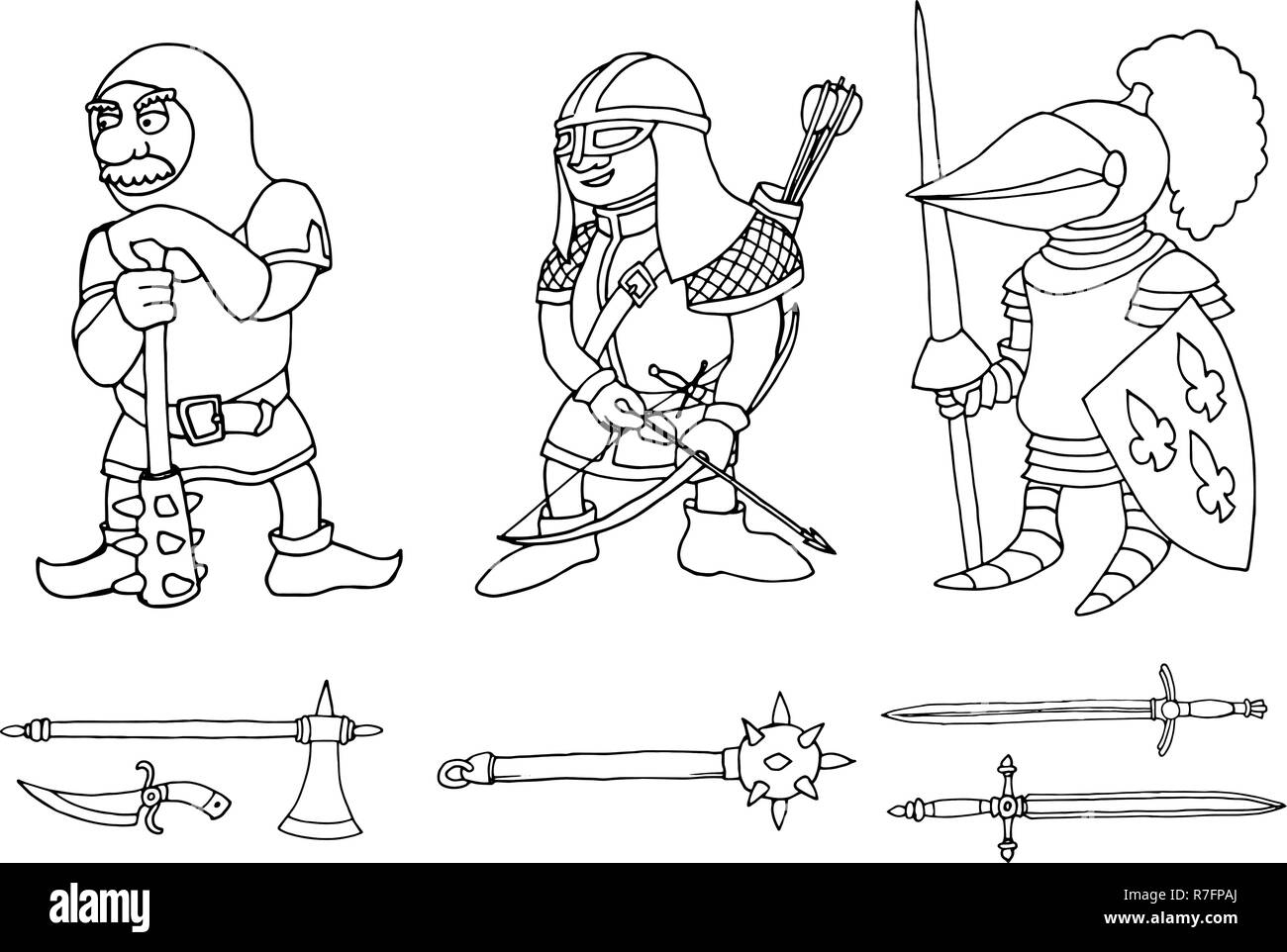 Medieval Knight Page Photos Medieval Knight Page Images Alamy